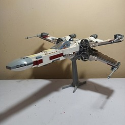 94483168_691603058243755_3029778872443863040_n.jpg Download STL file Lego Xwing Stand / Lego X Wing Base • 3D printer object, johnsnow92