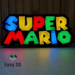 20210110_154041.jpg Download STL file Super Mario Lamp Led - Super Mario Iluminado • 3D printing template, lauroricardoc
