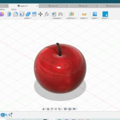 apple.PNG Download free STL file apple • 3D print template, shashwatrathore312