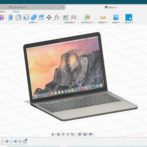 laptop.PNG Télécharger fichier STL gratuit ordinateur portable • Design imprimable en 3D, shashwatrathore312