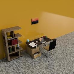 final stc.jpg Télécharger fichier STL salle d'étude • Plan imprimable en 3D, shashwatrathore312