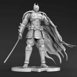 Descargar modelo 3D gratis Batman Samurai Gambody, andregames2015