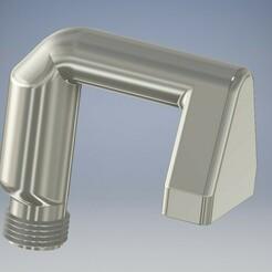 G1_2.jpg Télécharger fichier STL gratuit Entrée d'eau de la baignoire G1/2 Zoll (échange avec la pomme de douche) • Objet imprimable en 3D, tobimat
