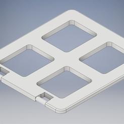 Leg1.jpg Download STL file Lego Duplo window • 3D print object, tobimat
