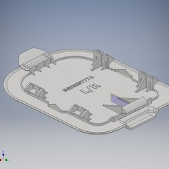 Radkasten_Deckel_Nebelscheinwerfer.jpg Télécharger fichier STL Undercover Panel 3G0805777A wheel house Cover • Modèle imprimable en 3D, tobimat
