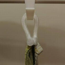 20210112_180850.jpg Download free STL file Loop towel, hook • 3D printer design, tobimat
