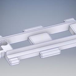 Lego_Duplo_Schien_gerade.jpg Download STL file Lego Duplo Railroad track Schiene gerade • 3D printable template, tobimat