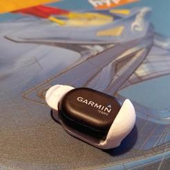 GH1.jpg Télécharger fichier STL Garmin Tempe Temperature sensor fix small holder Halterung befestingung • Plan imprimable en 3D, tobimat