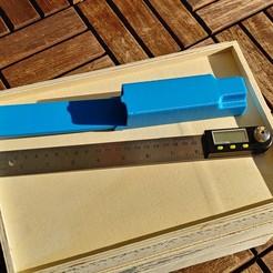 20201118_113608_HDR.jpg Télécharger fichier STL gratuit Cas du rapporteur numérique, déterminer l'angle, Hülle Winkelmesser, • Design à imprimer en 3D, tobimat
