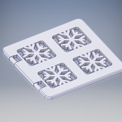 Lego_Duplo_Fenster_Eis.jpg Download STL file LEGO Duplo Frozen window • Object to 3D print, tobimat