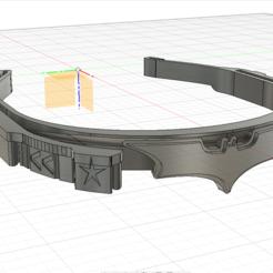 Télécharger fichier STL Bat Face shield - Bat visière, PlaSteel-Forge
