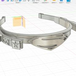 Imprimir en 3D Super Face shield - Super visor, PlaSteel-Forge