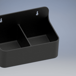 cajones 2 compartimentos.png Download STL file Tool box organizer // Tool box organizer • 3D printer design, enel