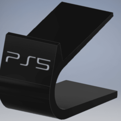 PS5 Stand.png Download STL file PS5 DualSense Stand • 3D printer design, enel
