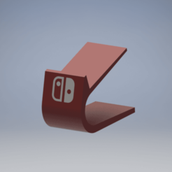 Stand Switch.png Download STL file Nintendo Switch Controller Stand • Object to 3D print, enel