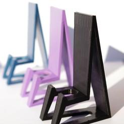 Télécharger fichier STL Support téléphonique - Support pour téléphone portable • Plan pour imprimante 3D, gonzalotarullo