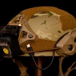 DSC_5547-2.jpg Télécharger fichier STL Gopro Airsoft Helmet Mount • Modèle pour imprimante 3D, Goodmods