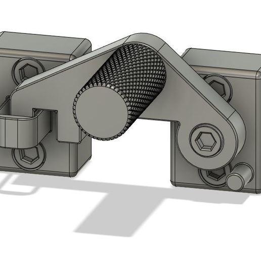 Télécharger fichier STL gratuit Verrouillage de porte profilé rainure de 8mm • Objet pour imprimante 3D, lsdtdragon