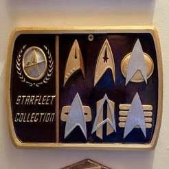 Descargar diseños 3D gratis Placa de la Flota Estelar 1 / Signo, longpaul395