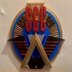 IMG_1660.jpeg Download free STL file Stargate Command Plaque \ Sign • 3D printing design, longpaul395