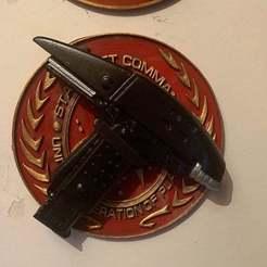 Télécharger STL gratuit Phase d'assaut de Star Trek, longpaul395