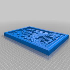 Nativity_Scene.png Download free STL file Nativity Scene Plaque • 3D print template, longpaul395