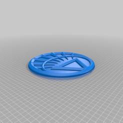 White_Corps.png Télécharger fichier STL gratuit Emblème du White Lantern Corps • Modèle imprimable en 3D, longpaul395