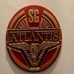 IMG_1661.jpeg Download free STL file Stargate Atlantis Patch Plaque / Sign • Object to 3D print, longpaul395