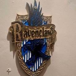 Impresiones 3D gratis Harry Potter - Placa de Ravenclaw / Signo, longpaul395