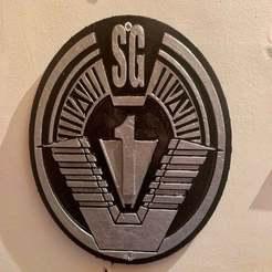 IMG_1659.jpeg Download free STL file Stargate SG1 Patch Plaque / Sign • 3D print template, longpaul395