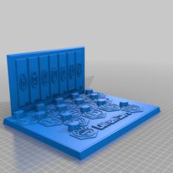 Descargar diseños 3D gratis Soporte de anillo de linterna revisado, longpaul395