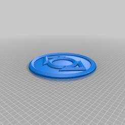 Indigo_Corps.png Télécharger fichier STL gratuit Emblème de la tribu Indigo • Modèle à imprimer en 3D, longpaul395