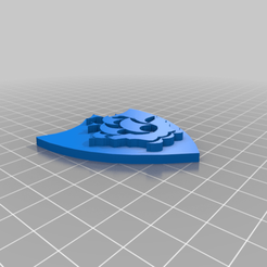Blue_Peter_badge_1.png Download free STL file Blue Peter Badge / Plaque.stl • 3D printing design, longpaul395