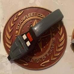 Télécharger plan imprimante 3D gatuit Star Trek TNG Phaser, longpaul395