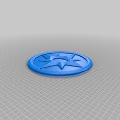 Violet_Corps.png Télécharger fichier STL gratuit Emblème du Corps des lanternes violettes • Design pour impression 3D, longpaul395