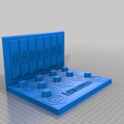 Lantern_Corps_Ring_Stand.png Download free STL file Lantern Corps Ring Stand • 3D print design, longpaul395