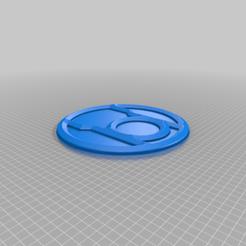 Red_Corps.png Télécharger fichier STL gratuit Emblème du Red Lantern Corps • Objet pour impression 3D, longpaul395