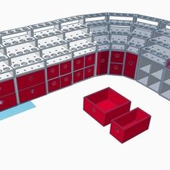 Download STL file Paint Station Starter Set • 3D printable model, TheWarBase