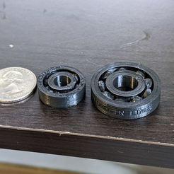 Descargar diseños 3D gratis Rodamientos de bolas, 22 mm de diámetro exterior y 31,25 mm de diámetro exterior, HydrogenLine