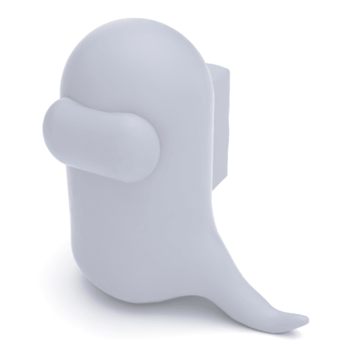 Download Stl File Among Us Ghost 3d Printable Model Cults
