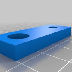 Télécharger fichier imprimante 3D gratuit Titulaire d'un profil de noix en aluminium M4+M8, superkolos