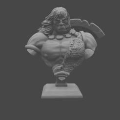 CONAN_BUST.png Télécharger fichier STL gratuit Buste classique barbare • Objet pour impression 3D, DomesticTroll_3dMaker