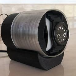 container_watch-winder-v2-3d-printing-249185.jpg Télécharger fichier STL Remontoir de montre v2 • Design pour imprimante 3D, Morpheu
