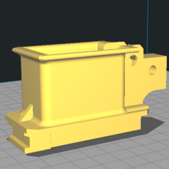 ak to pp19 adapter.PNG Download STL file AK to PP19 adapter airsoft  • 3D print template, Snowyfox_50