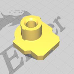 gat.PNG Download STL file Airsoft Gat buffer tube adapter • 3D printable model, Snowyfox_50