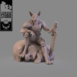 Descargar modelos 3D para imprimir The fighter, steamheadstd