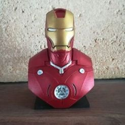 Iron Man 1.jpg Download free STL file Iron Man • Model to 3D print, debuckbenoit