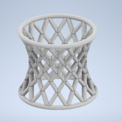 Capture.PNG Download free STL file Hyperboloid ruled napkin ring • 3D printing model, Rober314