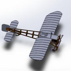 BLERIOT PH2.PNG Télécharger fichier STL AVION BLERIOT XI MAQUETTE  DECORARIF  • Design pour impression 3D, Art-Youl