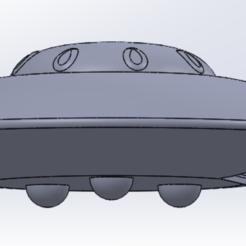 PHOTO SECOUPE 1.PNG Télécharger fichier STL gratuit Soucoupe volante • Objet pour impression 3D, Art-Youl